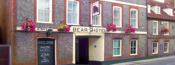 The Bear Hotel, Havant, Between Southampton and Portsmouth