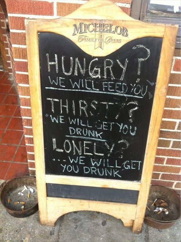 Funny Pub Signs Funniest Pub Restaurant Chalkboards - The internet cant get enough of this texan restaurants hilarious signs