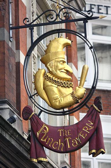Punch- Tavern, Fleet Street