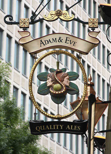 Adam & Eve, London