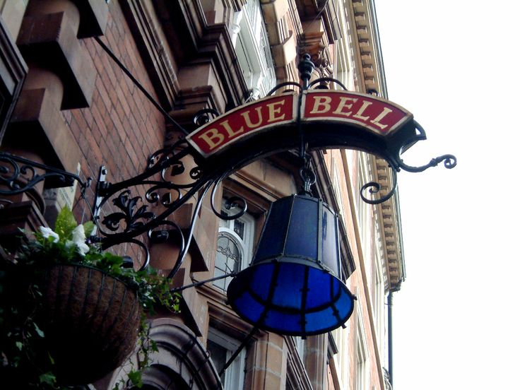 Blue Bell Sign, Nottingham