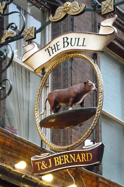 The Bull Pub Sign
