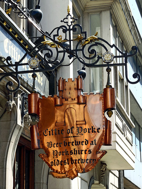 Cittie of Yorke, High-Holborn