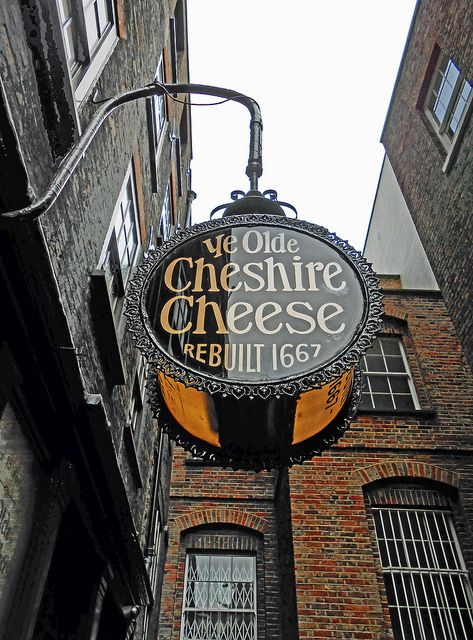 The Olde Cheshire Cheese, london