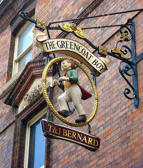 The Greencoat Boy, Westminster