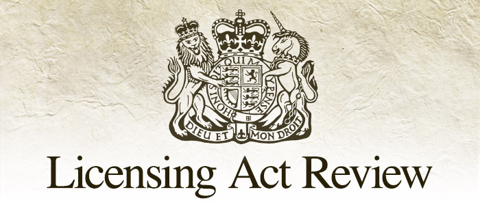 licensing act review