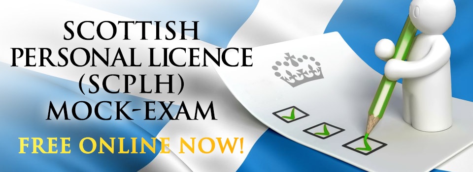 scottish personal licence scplh mock exam